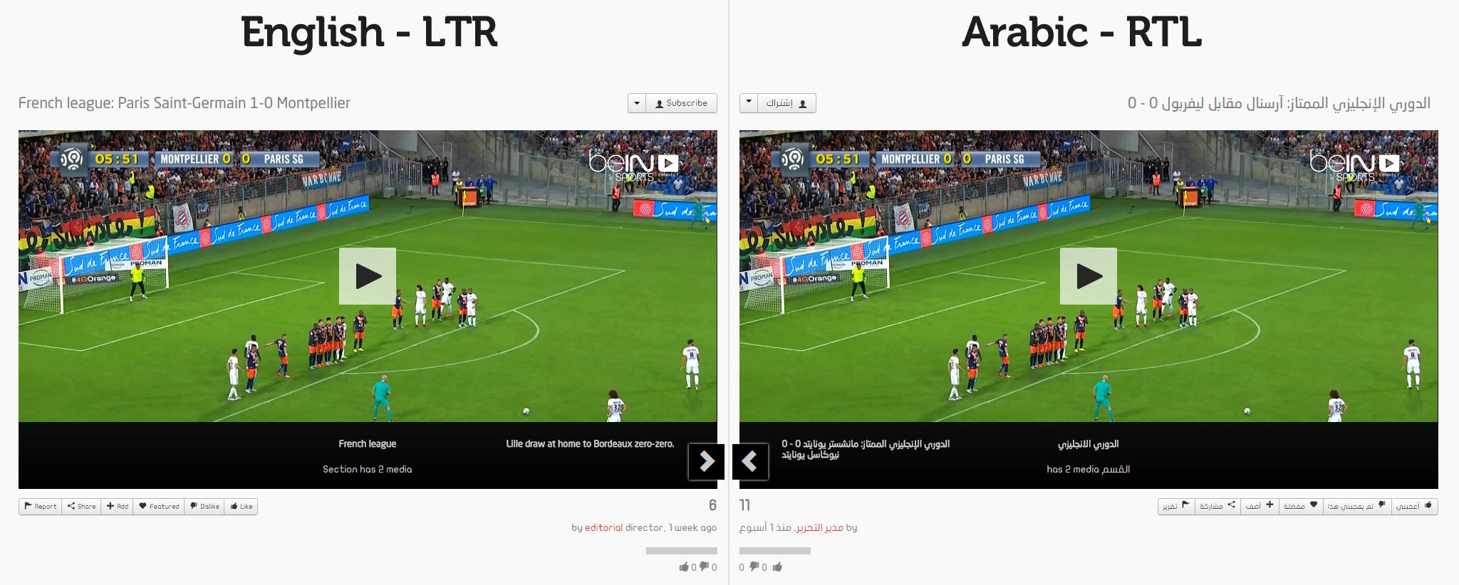 Right-to-Left (RTL) Language Support Player Comparison
